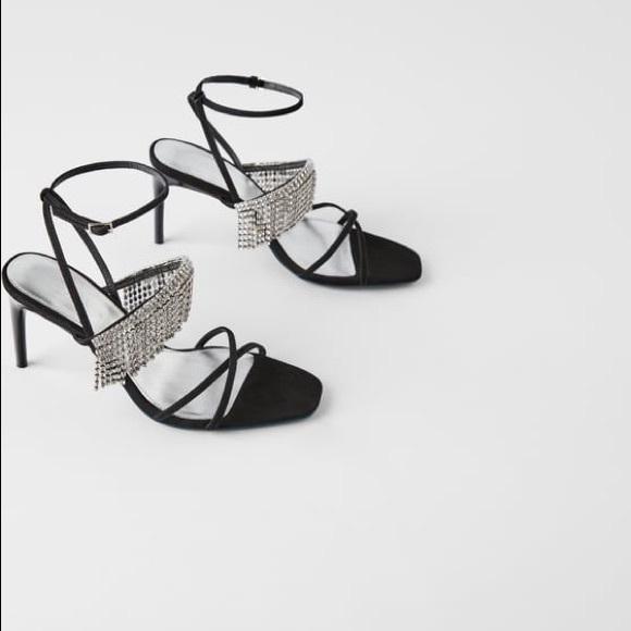 Zara Shoes - Zara blue collection sandalrs